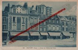 (Oise) Noyon - 60 - Place De L'Hôtel De Ville - Noyon