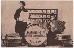 MUSICIEN. ACCORDEONISTE. JEANNOT-BLIN. AGE De 6 ANS. ACCORDEON FRANCOIS DEDENIS. - Musique Et Musiciens