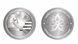 Vietnam Viet Nam Commemorative Silver Coin Series 1 : US - North Korea Summit In Hanoi 27-28th Of Feb 2019 - Vietnam