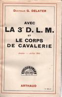 HISTORIQUE 3e DLM DIVISION LEGERE MECANISEE CORPS CAVALERIE GUERRE 1940 GRDI - 1939-45