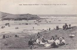 SAINTE-ANNE-de-LA PALUD - Vue Générale De La Plage Prise De La Dune - Déjeuner Sur L'Herbe - TBE - Francia