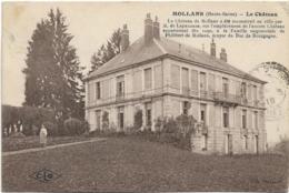 D70 - MOLLANS - LE CHÂTEAU  - Homme En Tablier Sur Le Chemin - France