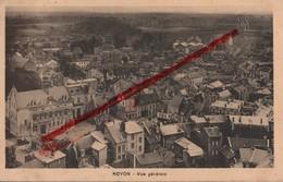 (Oise) Noyon - 60 - Vue Générale (entre Deux-guerres) Circulé 1936 - Noyon
