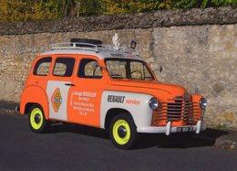 Renault Colorale Prairie  (1954) -  Promotion Garage Trouiller, Renault  - CPM - Voitures De Tourisme