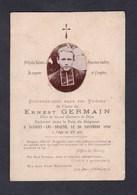 Souvenir Deces Ernest Germain Savigny Les Beaune Eleve Du Grand Seminaire De Dijon à 23 Ans - Décès
