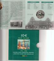 Belgio-2002-10 E. 50° Nord-Sud-F.D.C.-Unificato E.50 - Belgio