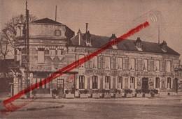 (Oise) Noyon - 60 - Note, Facture, Hôtel Des Sports (cartonnée) 12,2 Cm X 8,1 Cm - 1900 – 1949
