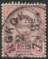 SIAM --OVERPRINT--1896 - Siam