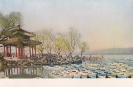 CARTOLINA - POSTCARD - CINA - CHIH CH'UN TING (PAVILION HERALDING SPRING) THE SUMMER PALACE PEKING - Cina
