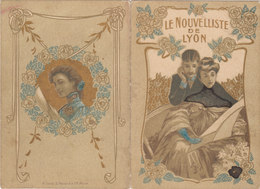 CALENDRIER 1906 LYON LE NOUVELLISTE DE LYON - Calendriers