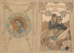 CALENDRIER 1906 LYON LE NOUVELLISTE DE LYON - Petit Format : 1901-20