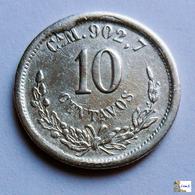 México - 10 Centavos - Chihuahua - 1891 - México