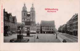 WITTENBERG GERMANY~MARKTPLATZ~LAUTZ U. BALZAR 1900s PHOTO POSTCARD  39320 - Wittenberg