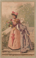 CALENDRIER 1896 BISCUIT LEFEVRE UTILE SEMESTRIEL - Calendars