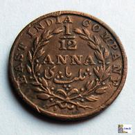 East India Company - 1/12 Anna - 1835 - India