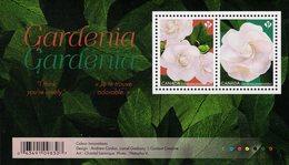 Canada - 2019 - Flowers - Gardenia - Mint Souvenir Sheet - Unused Stamps