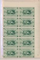 CP-19: MARTINIQUE: Lot Avec N°233/246**-252/259** En Blocs De 10 - Réunion (1852-1975)
