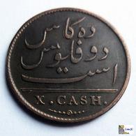 India - Madras - 10 Cash - 1808 - Indien