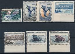 CP-25: T.A.A.F: Lot Avec N°1**-2/7** - Terres Australes Et Antarctiques Françaises (TAAF)