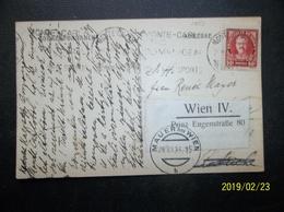 Monaco: 1933 PPC To Wien (#KN9) - Monaco