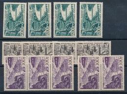 CP-29: FRANCE: Lot Avec N°24(4)-25(4)-26(5) - 1927-1959 Mint/hinged