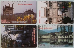 CHINA - Tamura - Anhui - 12 To 15 - Set Of 4 - 1994 - Used - Cina