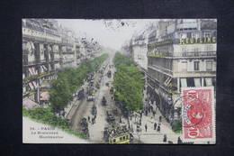 SÉNÉGAL - Affranchissement De Louga Sur Carte Postale De Paris En 1907 Pour Rouen - L 23851 - Sénégal (1887-1944)