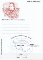 România 2006 Carte Postale 50 Ans Observatoire Météorologique Mirnâi Mikhail Mikhailovich Somov Neuf ** - Rumänien