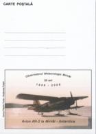 România 2006 Carte Postale 50 Ans Observatoire Météorologique Mirnâi Avion AN-2 Neuf ** - Roumanie