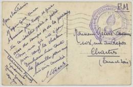 Cachet Gendarmerie Nationale - Brigade Frontière De Menton-Garavan / CP De Menton . - Marcophilie (Lettres)