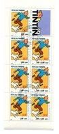 Bande Carnet Sur Son Support Yvert BC 3305 - Fête Du Timbre Tintin - Oblitération Cachet à Date - Stamp Day