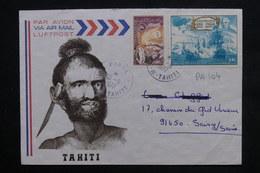 POLYNÉSIE - Enveloppe Touristique De Piraé Pour La France En 1977 , Affranchissement Plaisant - L 23853 - Polynésie Française