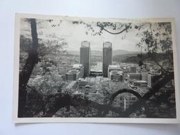 """Cartolina """"CARACAS Centro  Simon Bolivar"""" Anni '60 - Venezuela"""