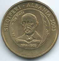 Albania - 2003 - 50 Lekë - Jeronim De Rada - KM89 - Albania