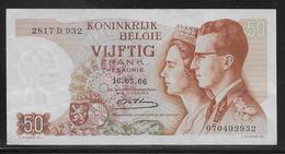 Belgique - 50 Francs  - Pick N° 139 - SUP - [ 2] 1831-... : Royaume De Belgique