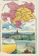AUTRICHE - HONGRIE - Carte éditée Par L'Amidon REMY - Non Classés