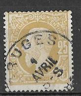 8S-421:N°32: E9: BRUGES - 1869-1883 Léopold II