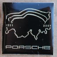 PORSCHE SUISSE - SWISS - SCHWEIZ - 1951 / 2001 - VOITURE - CAR   -     (ROUGE) - Porsche