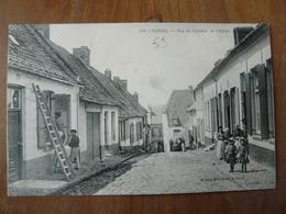 CPA 2 - Carte Postale - Cassel Rue Du Contour De L'église - Cassel