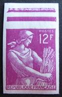 R1949/48 - 1957 - TYPE MOISSONNEUSE - N°1116 NEUF** BdF NON DENTELE - France