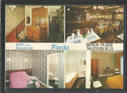 Cpsm - 62 - Pas De Calais - Berck Plage - Hotel Restaurant Florida - 1 Et 3 Rue De L ' Ancien Calvaire - Berck