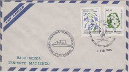 Argentina 1985 Base Aerea Teniente Matienzo  Ca 5 Feb 1985 Cover (41941) - Postzegels