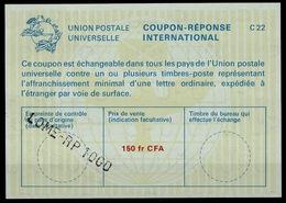 TOGO La22A  150fr CFA   International Reply Coupon Reponse Antwortschein IAS IRC O LOME RP TOGO - Togo (1960-...)