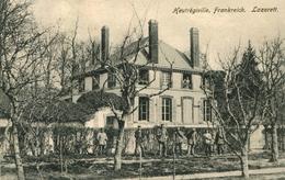 AK Heutrégiville Ca. 1915 (?) Lazarett / Reims Bétheny Bazancourt Tagnon - Autres Communes