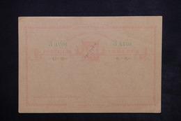 MACAO / TIMOR - Entier Postal Surchargé Provisoire Non Circulé - L 23871 - Macao