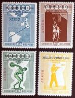 Peru 1956 Olympic Games MNH - Peru