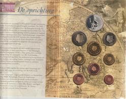 Olanda-2002-Divisionale 8 Val.+medaglia-Fondazione VOC-Unificato E.45 - Paesi Bassi