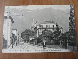 CPA 2 - Carte Postale - Bex En Suisse - Entrée Du Village - Sonstige