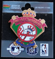 WORLD CHAMPIONS YANKEES 1996 - BASEBALL - USA - NEW-YORK - COURONNE - BATTE - BALLE  -     (21) - Baseball