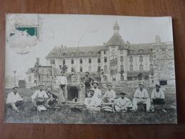 CPA 2 - Carte Postale - Château De La Haute Barde (Restauration/Travaux/Ouvriers) - Beaumont-la-Ronce